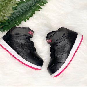 Nike Jordan Toddler Black/ Hyper Pink Size 6C